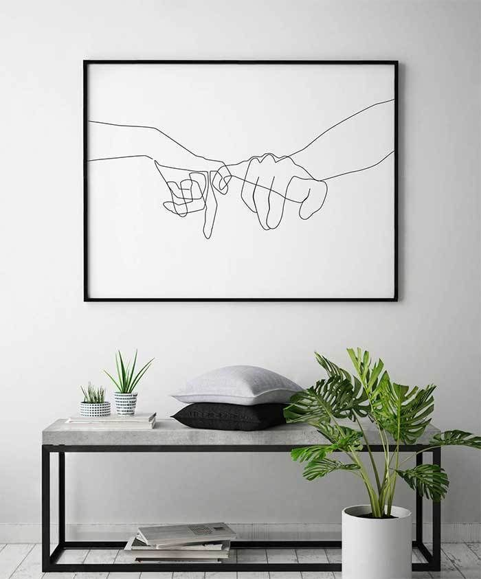 Art and decoration of romantic couple | Marriage and romance | Art & Home
