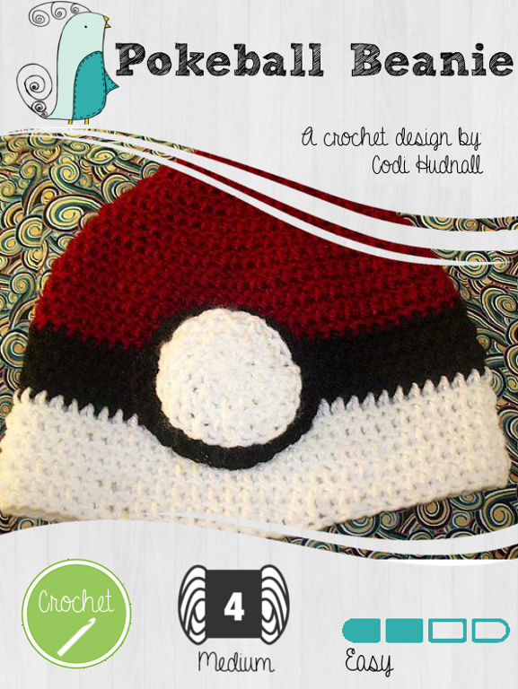 Crochet Pokéball ... by Codi Hudnall | Crocheting Pattern - Looking ...