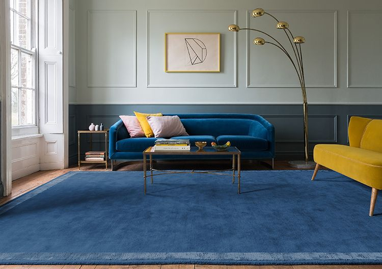 Walls Pale Powder No 204 And De Nimes No 299 In Modern Eggshell Cheap Living Room Sets Living Decor Living Room Color