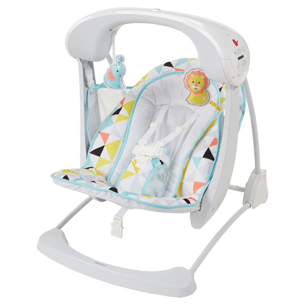 Fisherprice deluxe takealong swing and seat windmill