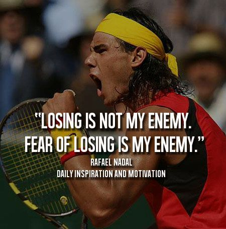 Batman Nadal And The Importance Of Making Mistakes Tennis Quotes Sports Quotes Tennis Lessons