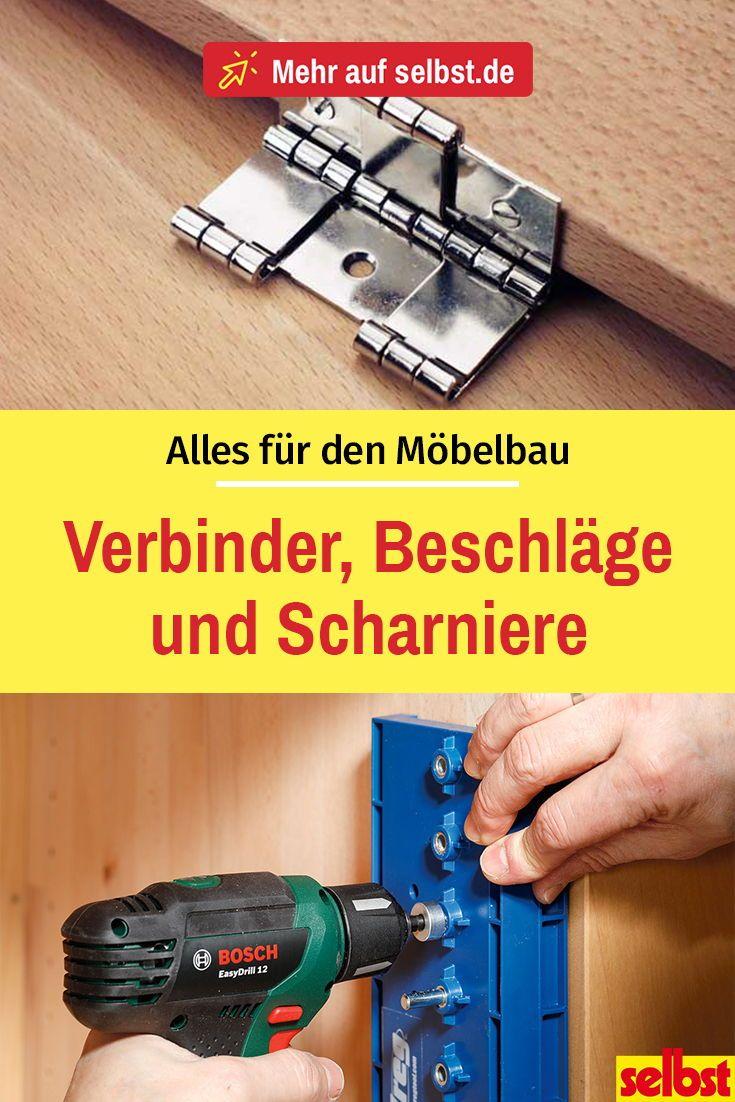 Photo of Möbelbänder, Scharniere & Beschläge | selbst.de