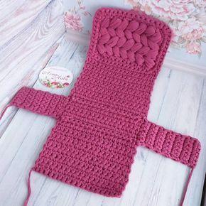How To Crochet A Shell Stitch Purse Bag