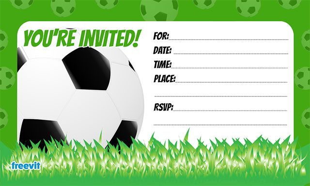 Soccer free printable birthday party invitations birthday party soccer free printable birthday party invitations birthday party invitations free printables pinterest party invitations soccer birthday and filmwisefo Gallery