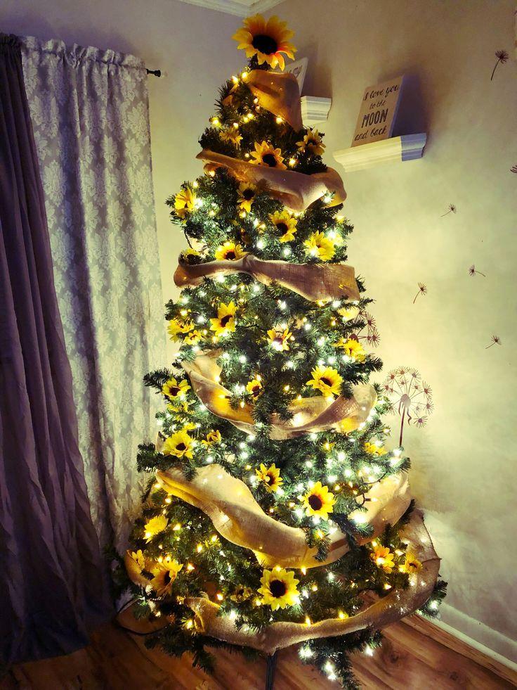 Sunflower Christmas Tree christmas christmastree