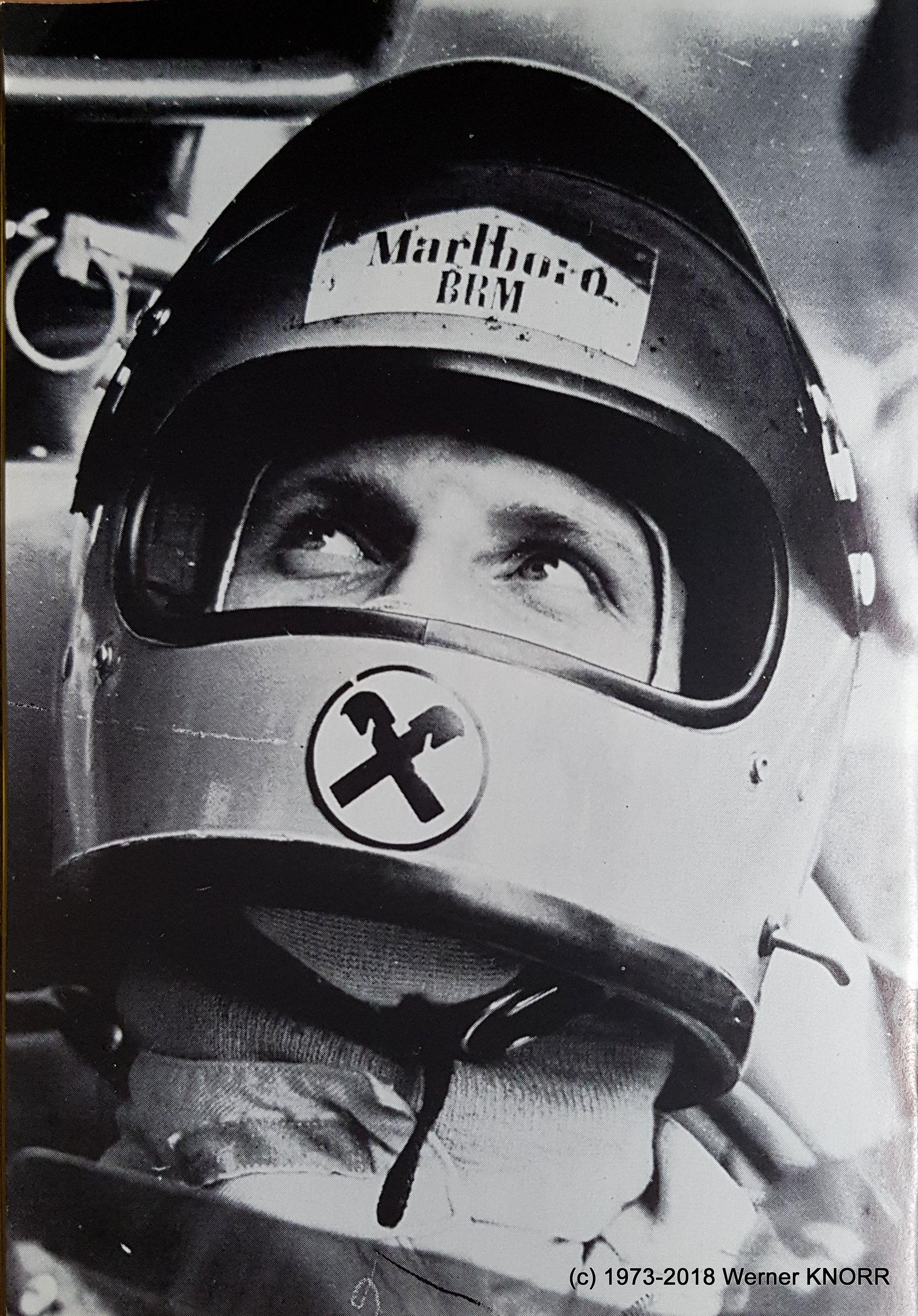 NIKI LAUDA STARS ganz privat 1973 c Werner KNORR