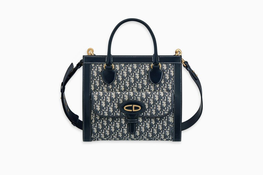 497216471f6c undefined Click here to enlarge the product picture DIOR OBLIQUE TOTE BAG  IN SIGNATURE CANVAS