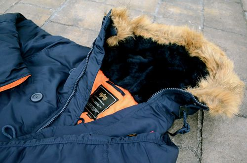 Alpha Industries N-3B Slim Fit Parka 50th Anniversary | Mens ...