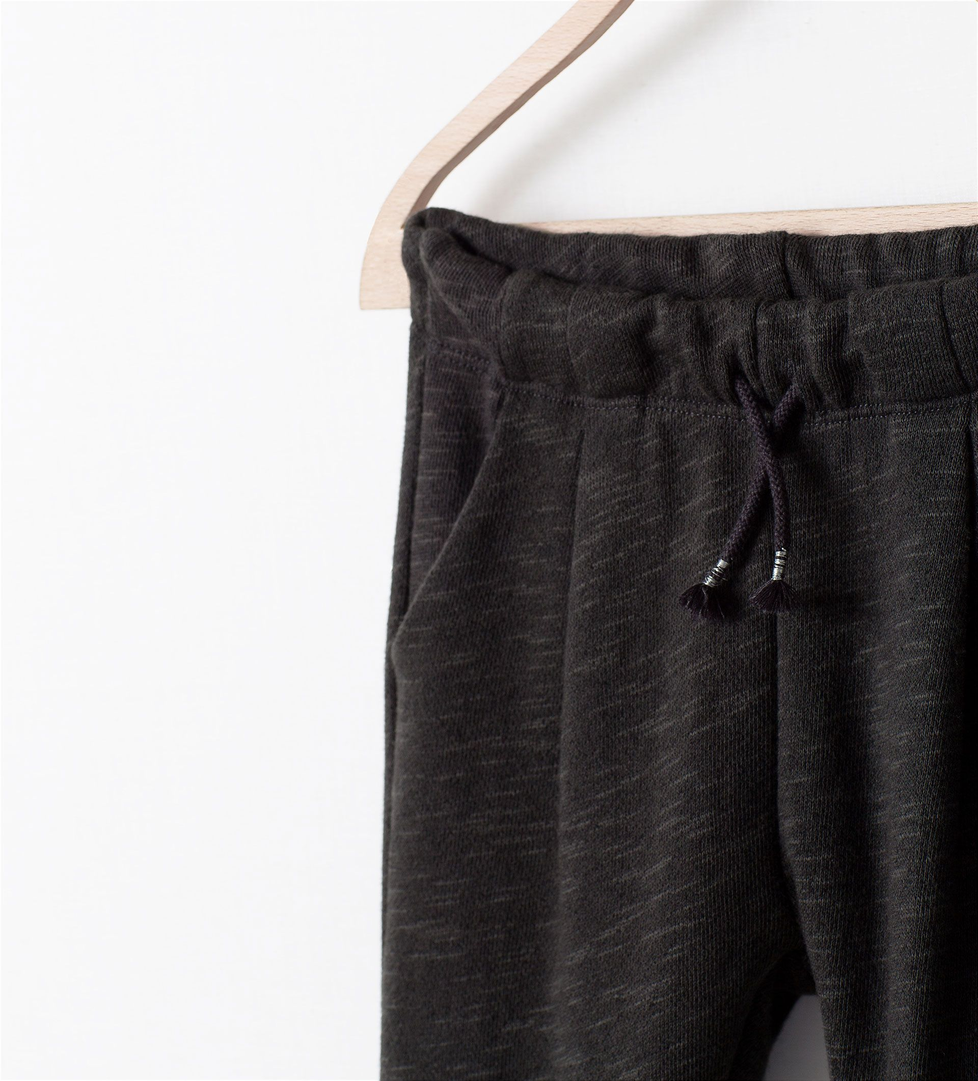 Image 3 of FRONT PLEAT LEGGINGS from Zara