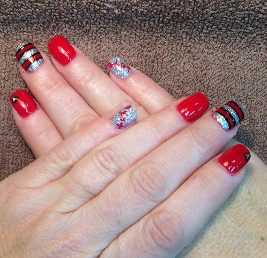 Happy Valentine\'s Day Nails - #anc #amazingnailconcepts ...