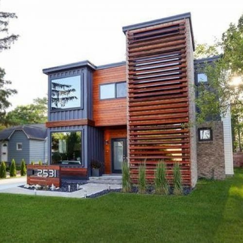 48 Amazing Shipping Container Home Designs To Make You Wonder La Gorgeous Design Container Home Concept