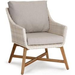Photo of Poly rattan armchair
