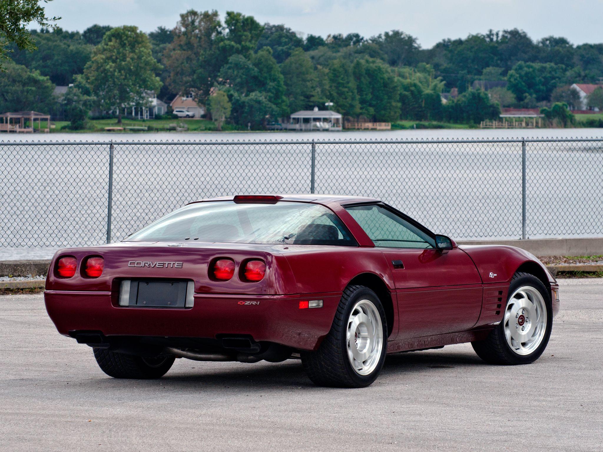 1993 Chevrolet Corvette Zr1 Sport Coupe 40th Anniversary 1yy07