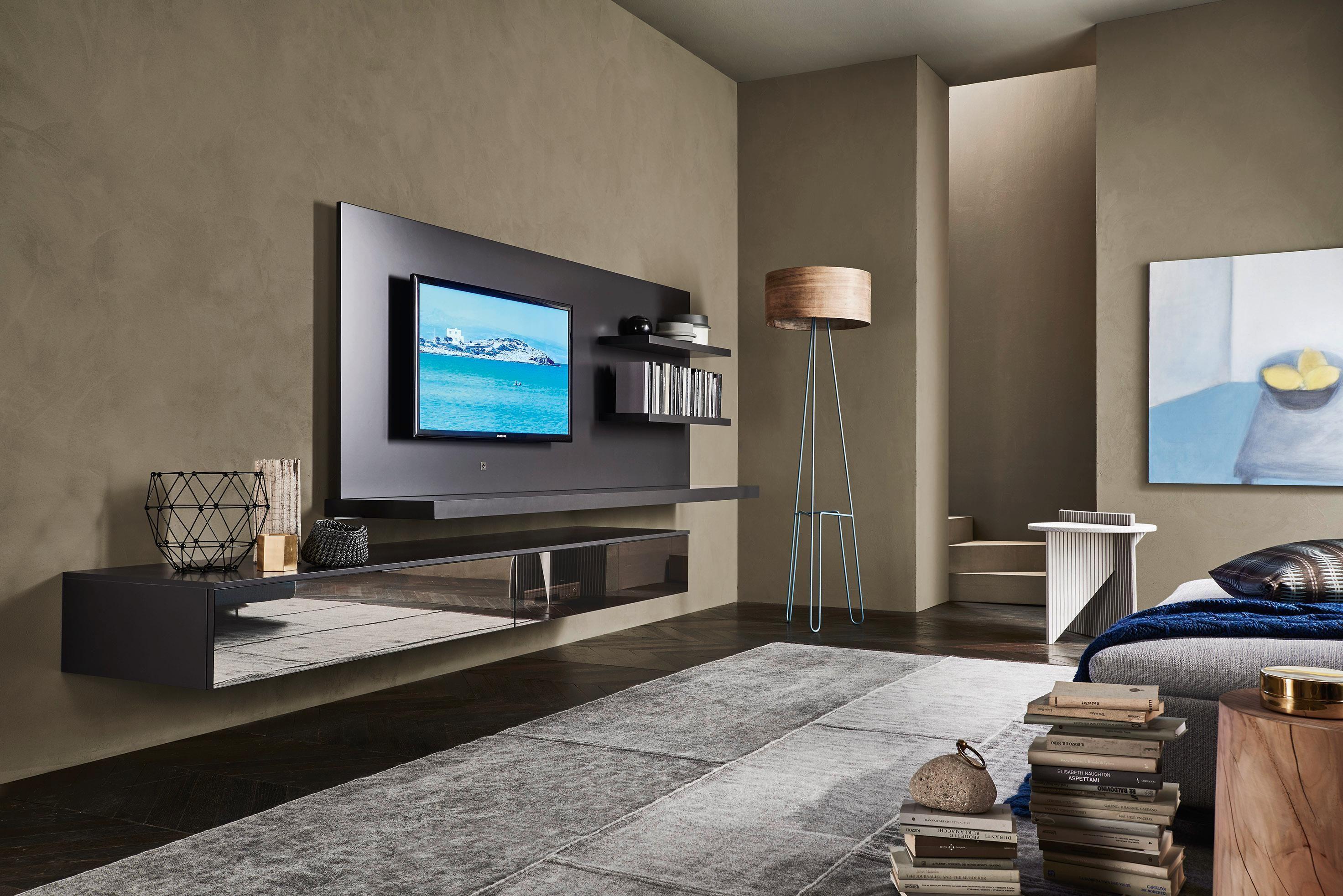 Wohnzimmer Fernsehwand in 10  Flat screen, Flatscreen tv