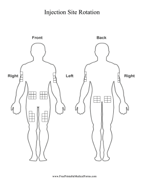 blank anatomical diagrams human body use this printable chart of the human body to track ...