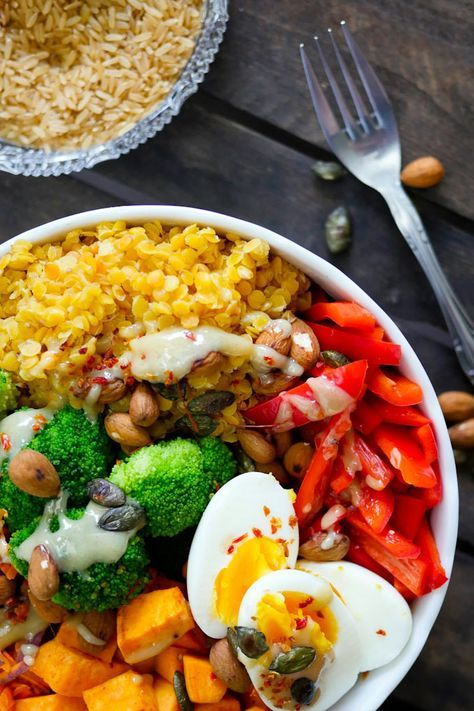 Clean Eating Trend: Rainbow Buddha Bowl