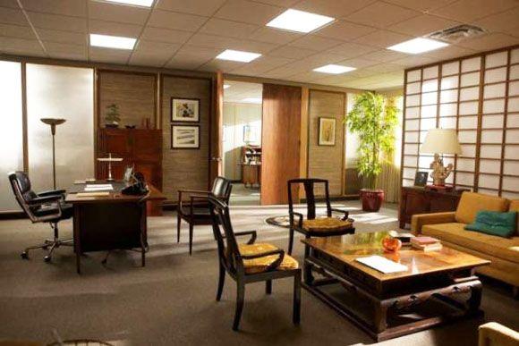roger sterling office. amc\u0027s mad men set and sterling cooper\u0027s office. roger office g