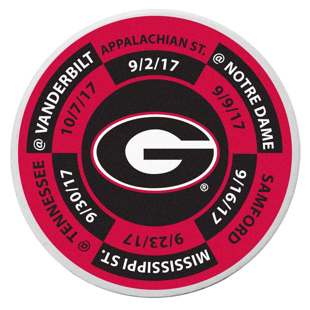 Bulldogs Schedule Golf Ball Marker Coin