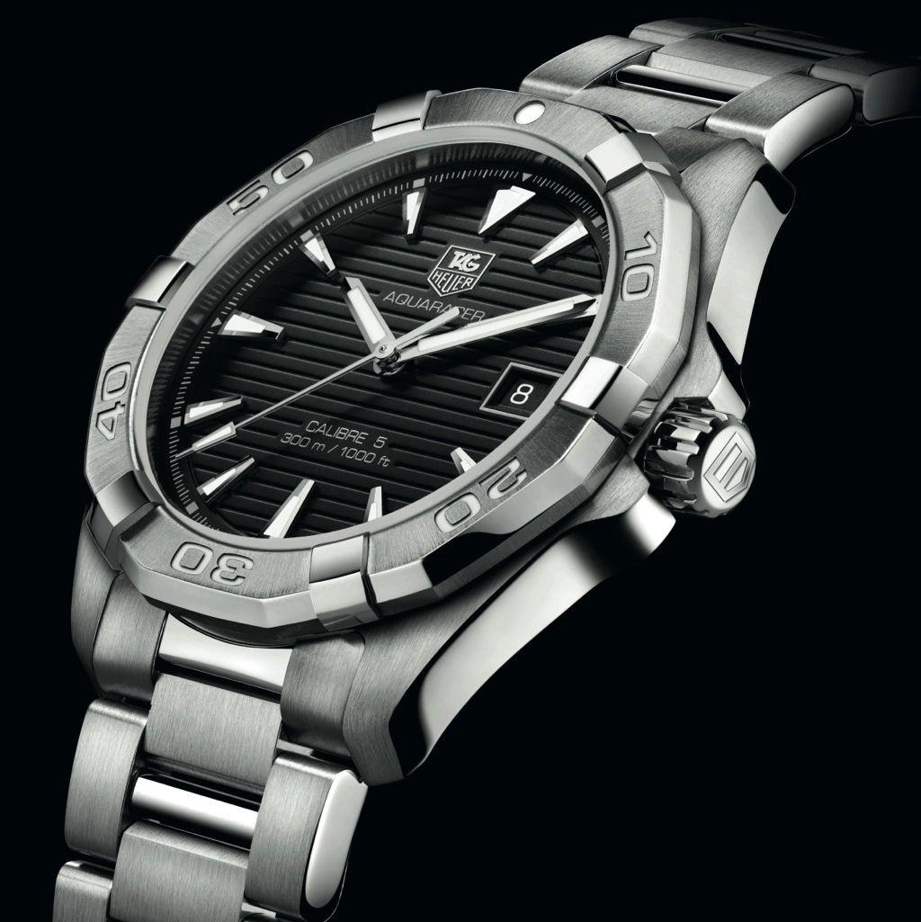 TAG Heuer Aquaracer WAY2110 Calibre 5 | My Wants | Tag ...