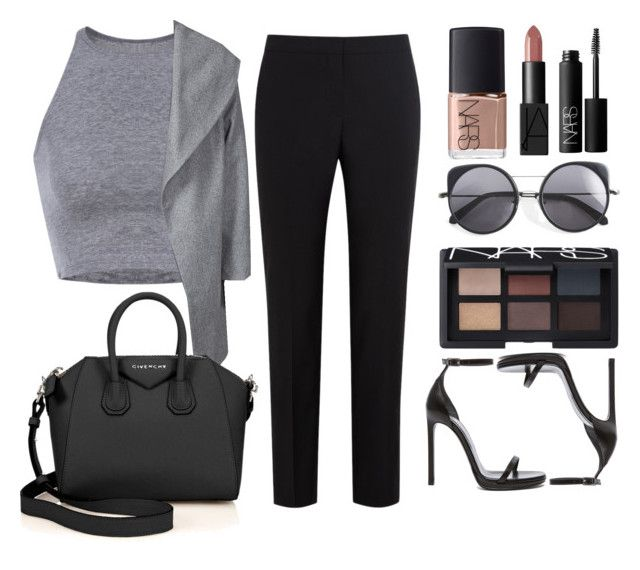 """""""NARS"""" by xxtraceyxx on Polyvore featuring ONLY, Wood Wood, Paul Smith Black Label, Givenchy, Yves Saint Laurent and NARS Cosmetics"""