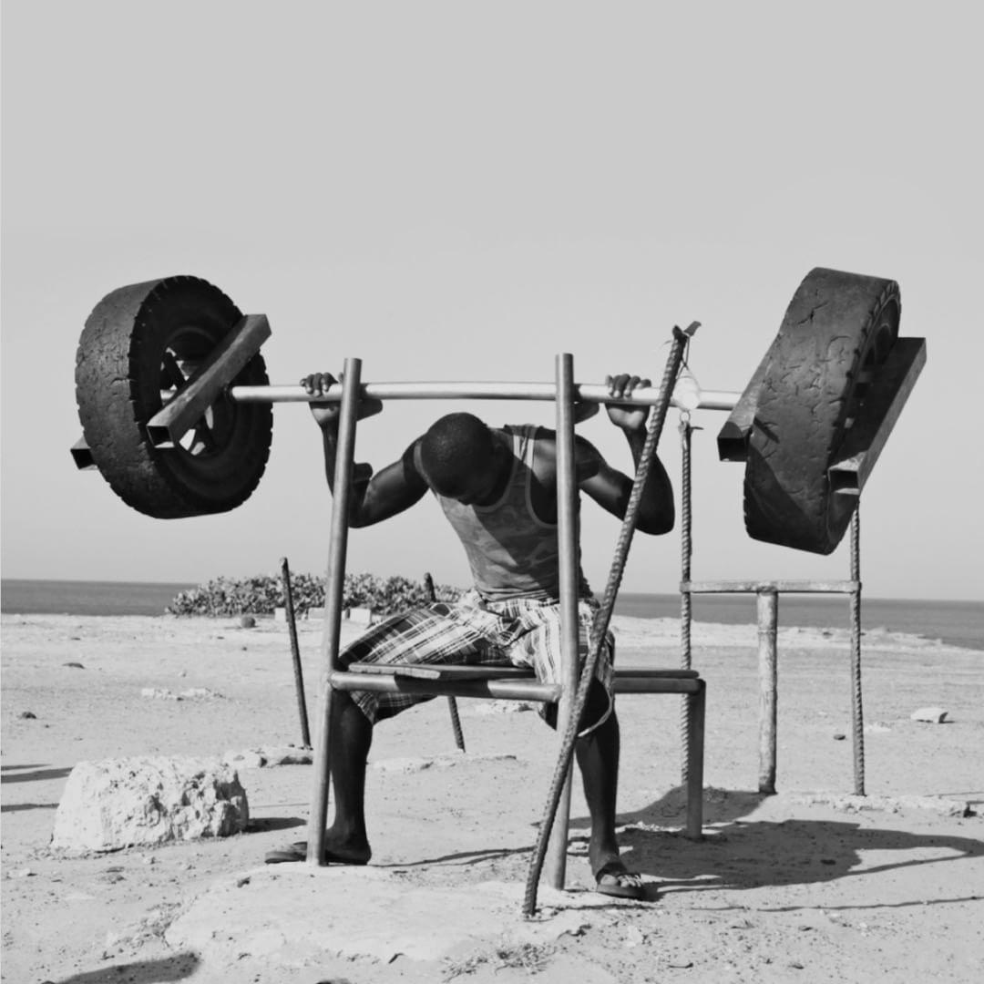 Senegal Dakar Corniche Gym En Plein Air