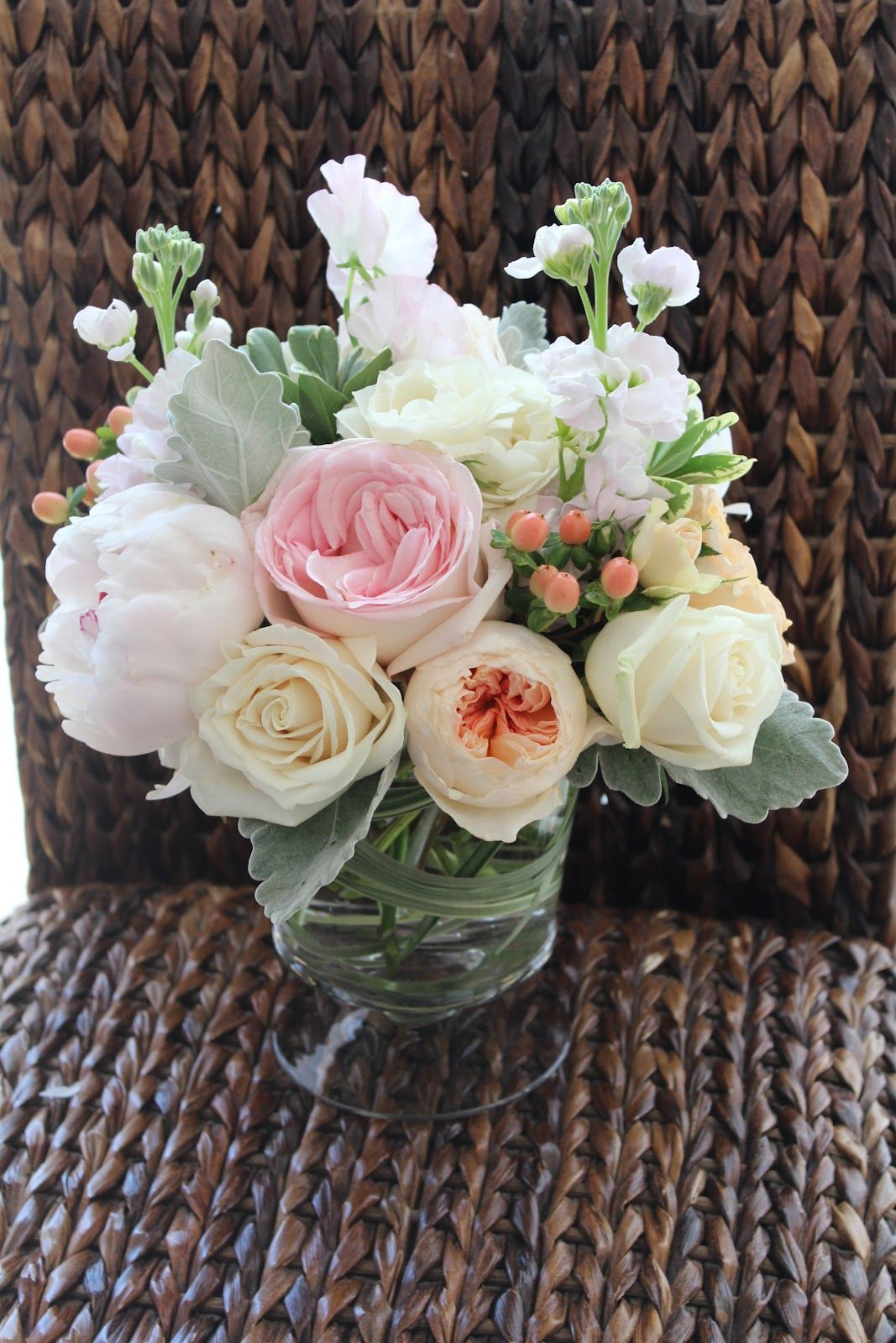 peony and ranunculus centerpieces - Google Search