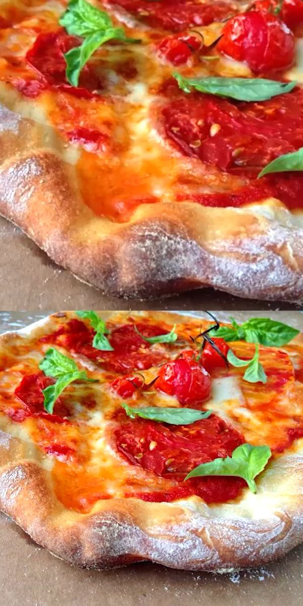 Photo of Best Pizza Dough Recipe ~ Vegan