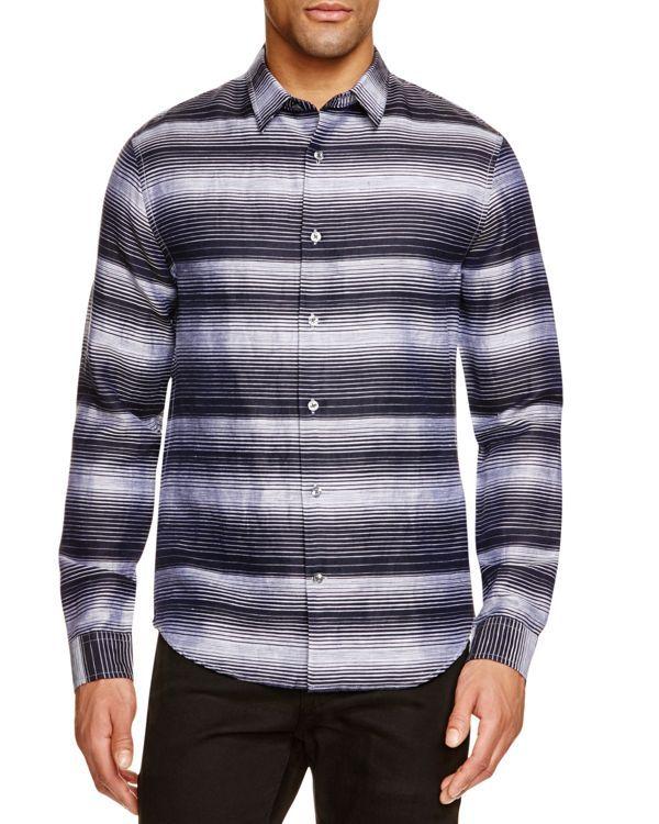 Vince Topanga Stripe Slim Fit Button Down Shirt - 100% Bloomingdale's Exclusive