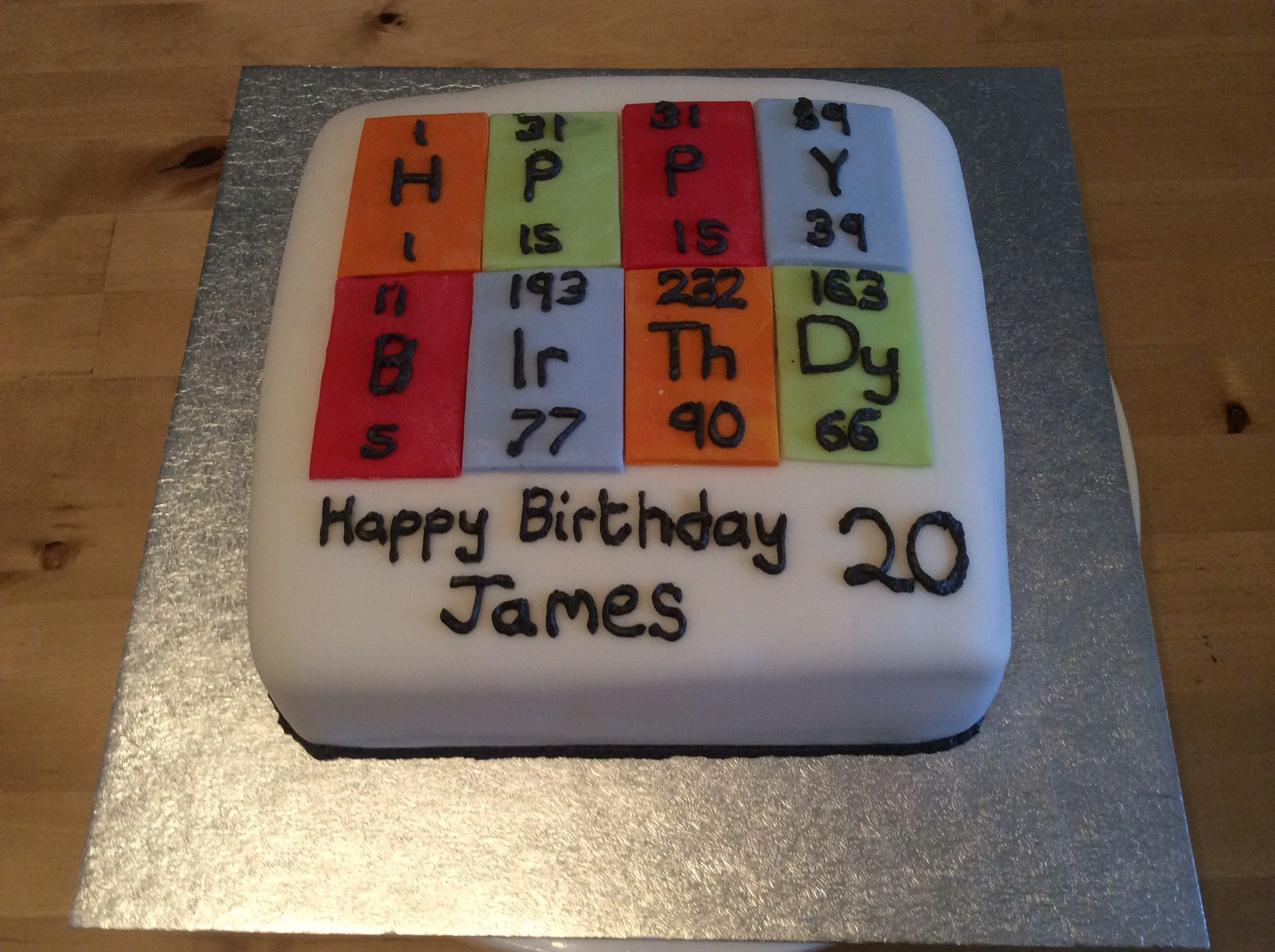 Periodic table cake all scientifically correct periodic table periodic table cake all scientifically correct gamestrikefo Image collections