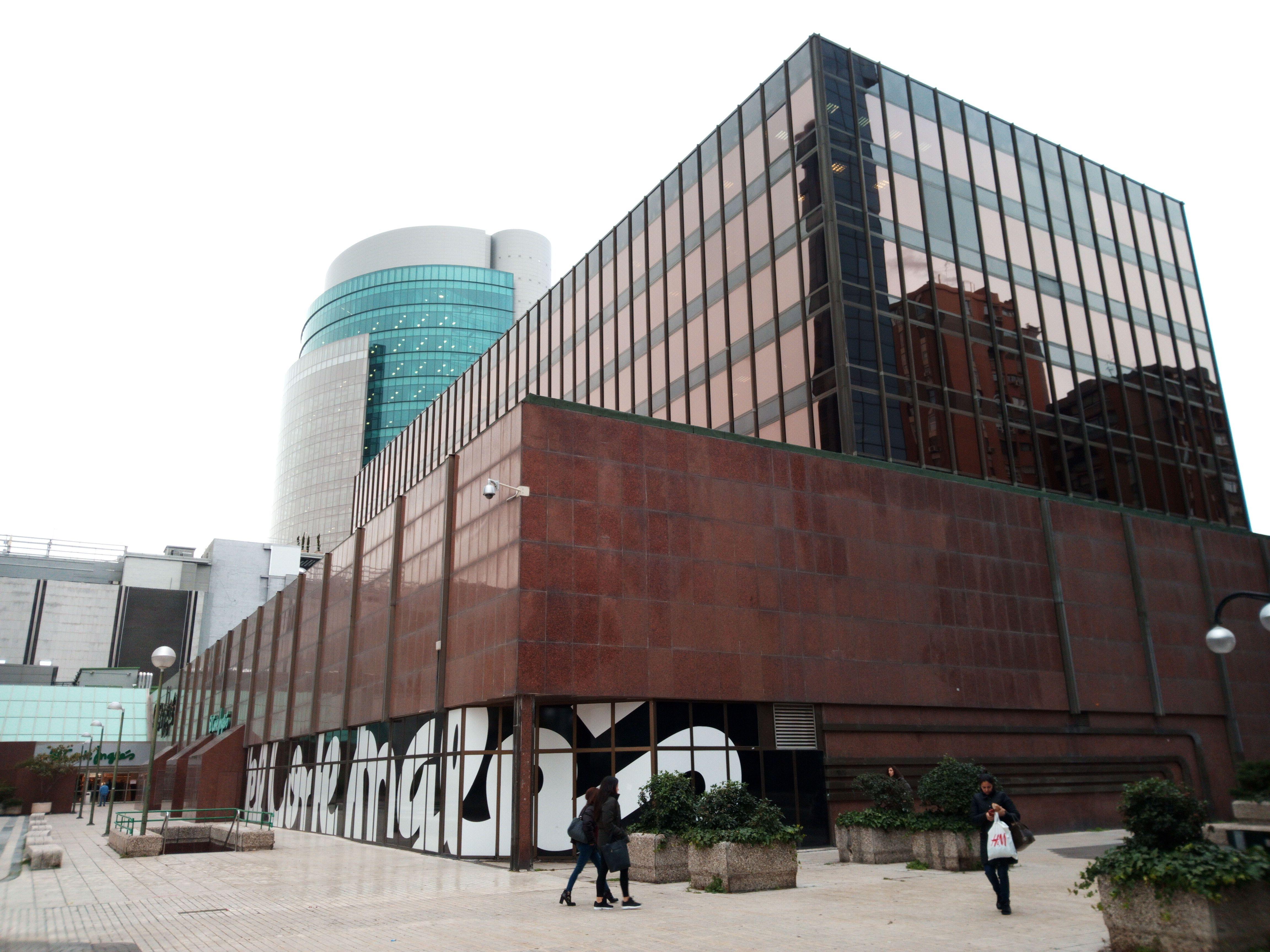 Madrid Azca Edificio Bronce De El Corte Ingl S Y Torre Titania  ~ Reformas El Corte Ingles Opiniones