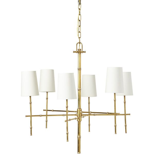 Serena Lily Atwell Chandelier 126 655 Php Liked On Polyvore Featuring Home Lighting And Ceiling Lights