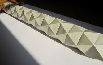 origami tower/tunnel