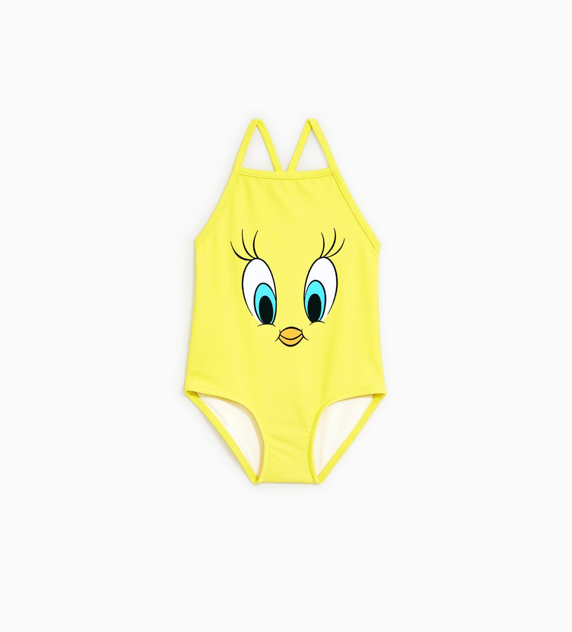 b69acd9aa0 TWEETY SWIMSUIT from Zara | Kids Swimwear | Baby girl swimsuit, Kids ...