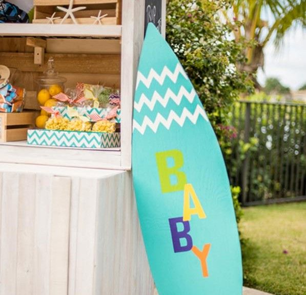 10 Darling Beach Themed Baby Shower Decoration Ideas (With ...