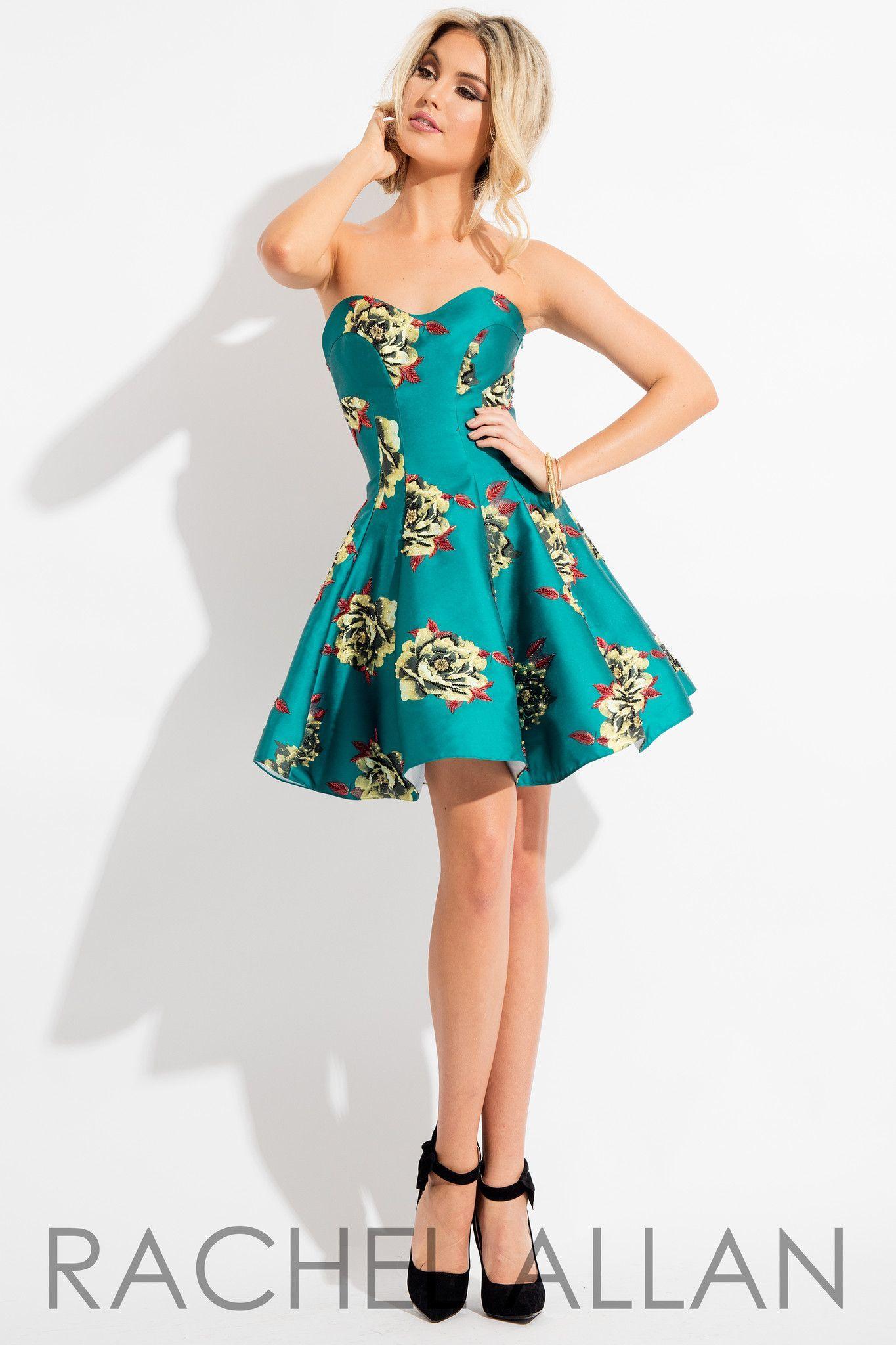 Rachel Allan 4255 Deep Real Dress Rachel