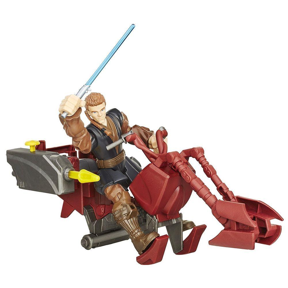 Star Wars Hero Mashers Jedi Speeder and Anakin Skywalker B3833AS0