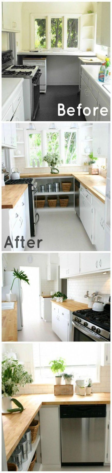 1950s kitchen remodel before after light fixtures 37 ideas ...