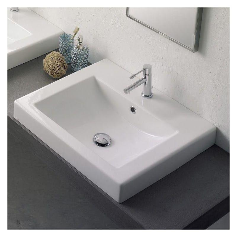 Nameeks 8007 A In 2020 Drop In Bathroom Sinks Square Bathroom Sink Sink