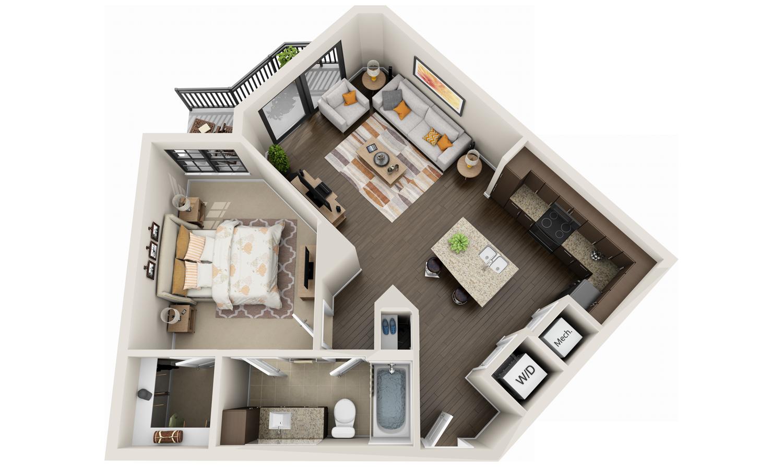 Best 3d Floor Plans Tours For Apartments Floor Plan Design Apartment Floor Plans Apartment Layout