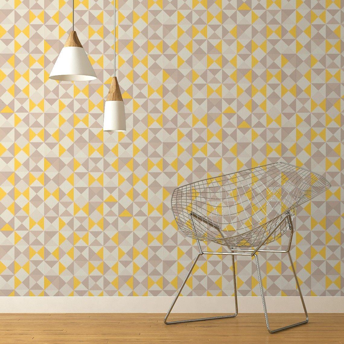 Les 25 meilleures id es de la cat gorie tapis jaune moutarde sur pinterest - Tapisserie saint maclou ...