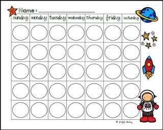 free science lesson blank moon phases calendar freebie go to