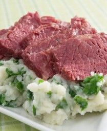 Corned beef (I'd like to try the pot like this)