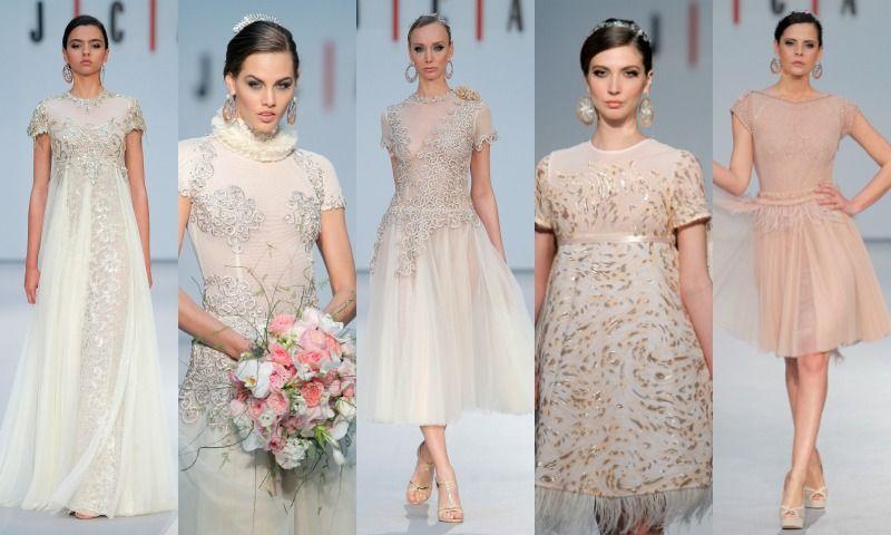 23b6f26ee Costura España 2017  Hannibal Laguna vuelve a la novia clásica - Foto 10