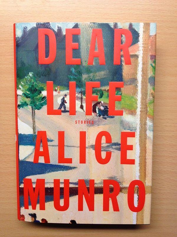 Het omslag van Alice Munro's nieuwe verhalenbundel Dear Life bevat een piepklein detail uit een schilderij van Percy Shakespeare (http://www.lissfineart.com/pix/shake1.jpg). Mooi!