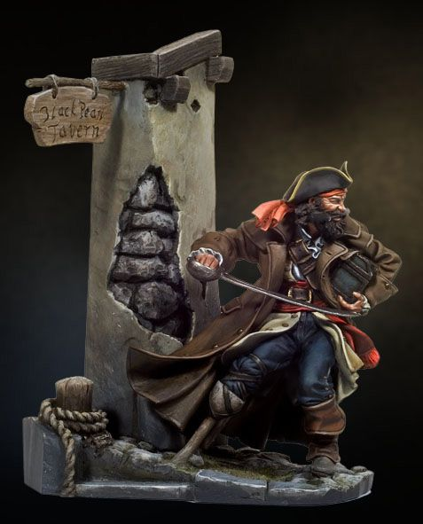 Port Royale PC-06 54 mm 1/32 | Pirates Of The Caribbean | Andrea Miniatures | ANDREA DEPOT USA, $46