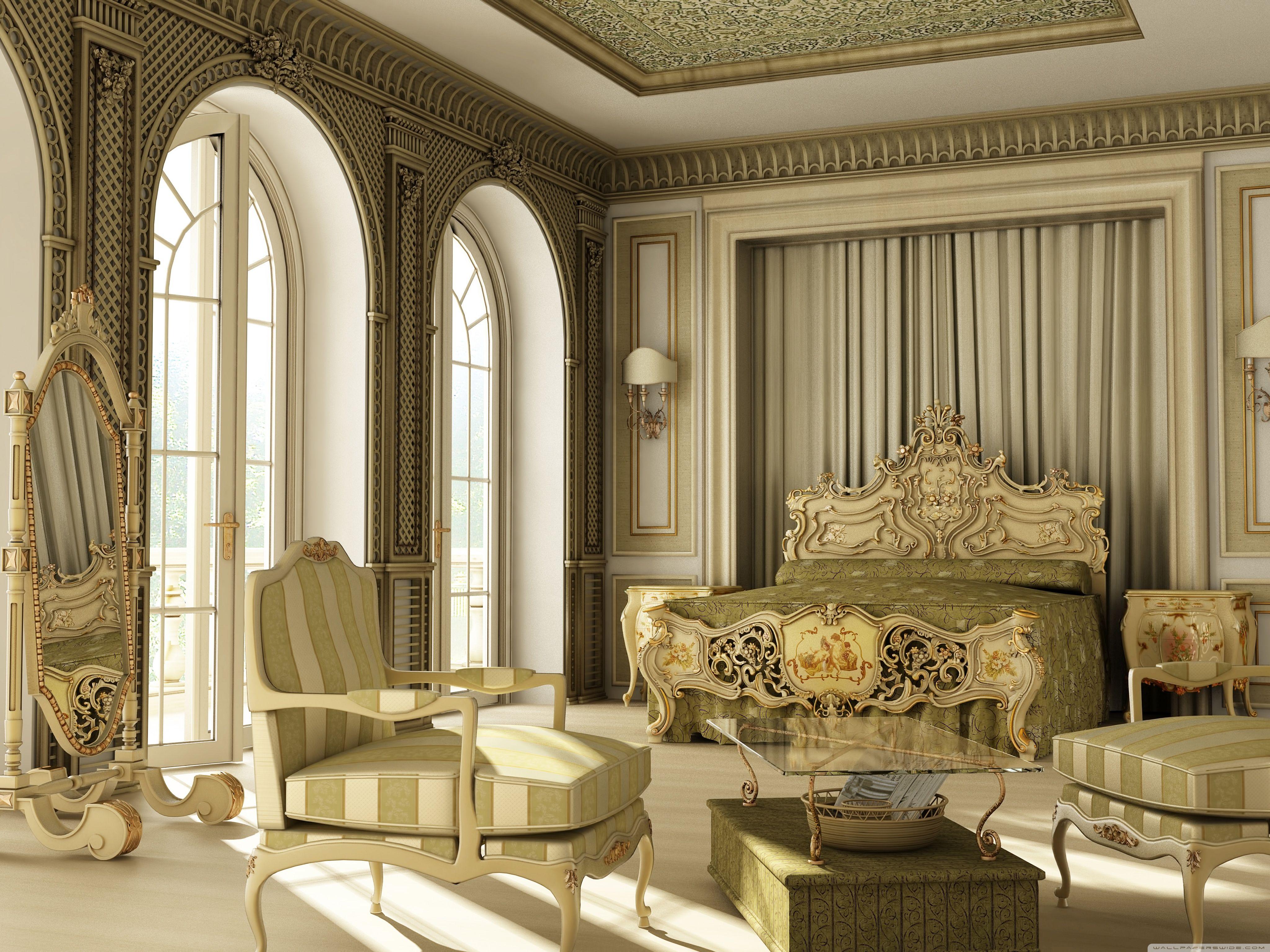 Best Luxury Classic Bedroom Hd Desktop Wallpaper Widescreen 400 x 300