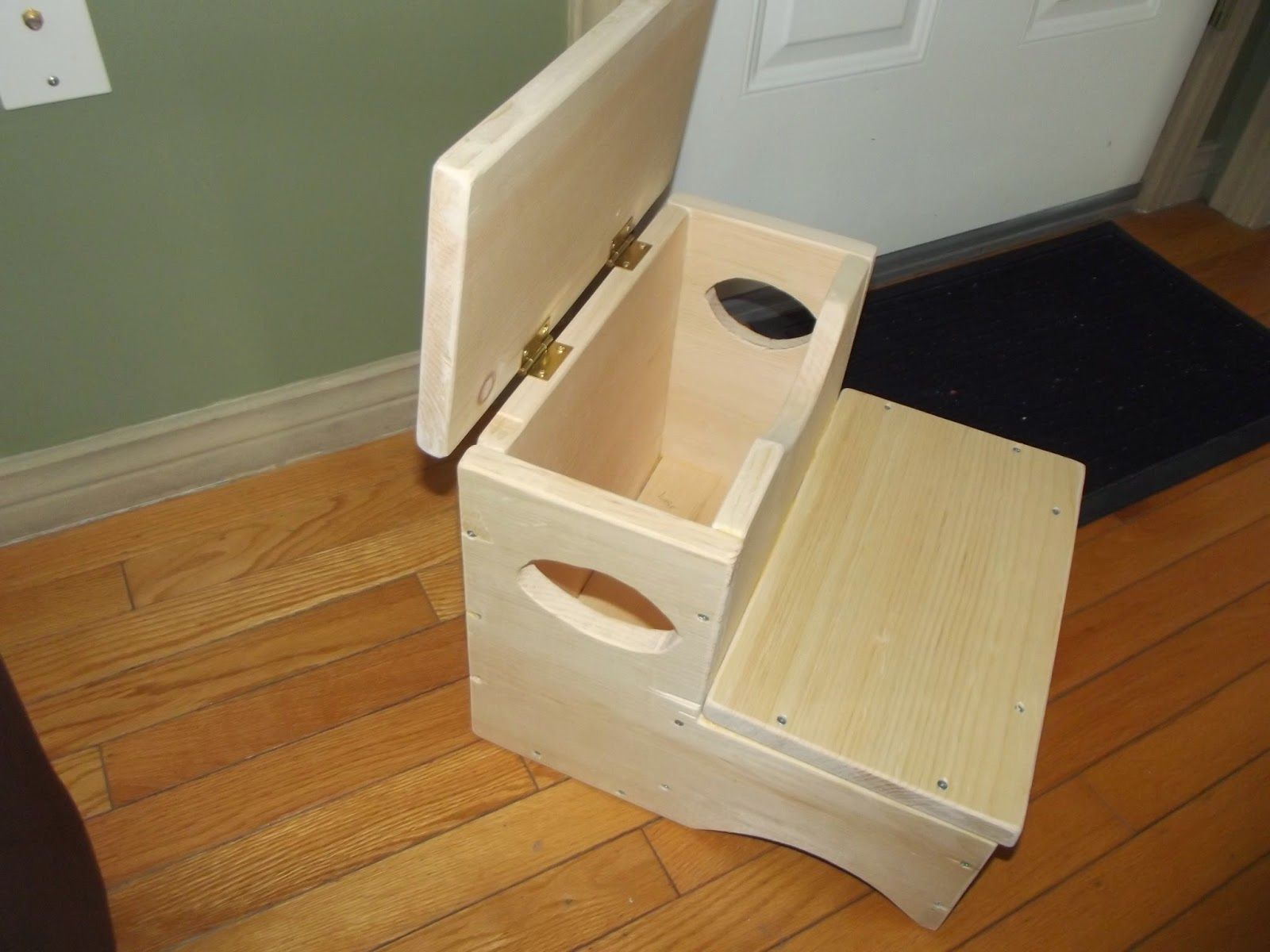 This Is A Good Idea A Storage Step Stool Not Terribly