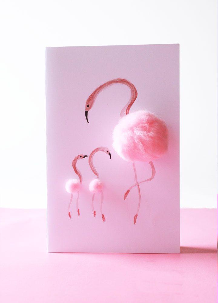 diy mother 39 s day cards selber basteln pink und basteln. Black Bedroom Furniture Sets. Home Design Ideas