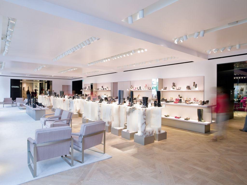 Selfridges London Retail Shoe Gallery