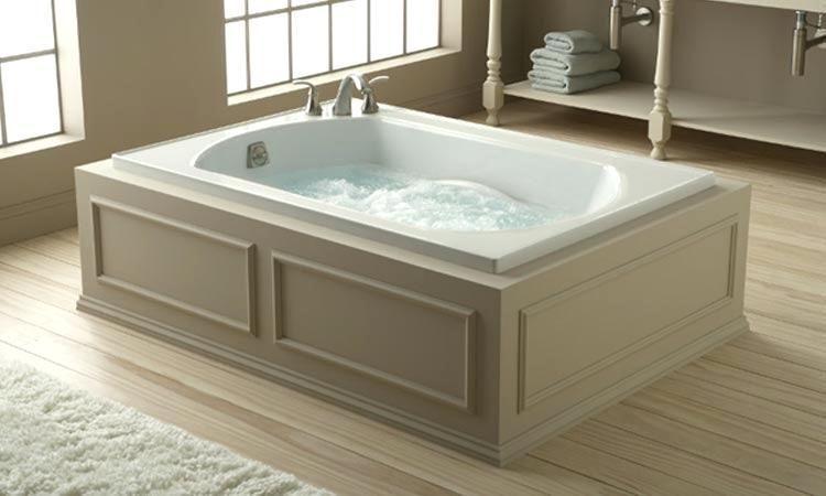 Badkamer Met Whirlpool : Free standing jacuzzi tub bathtubs idea freestanding whirlpool
